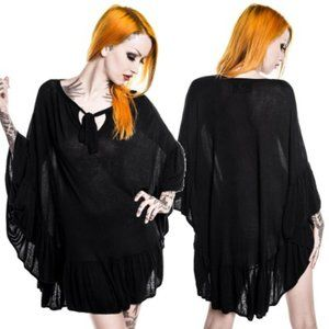 Killstar 'Sanctuary' witchy goth cape